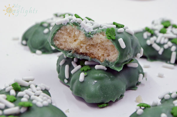 Shamrock Spritz Cookies 8