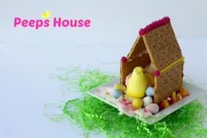 easter peeps house