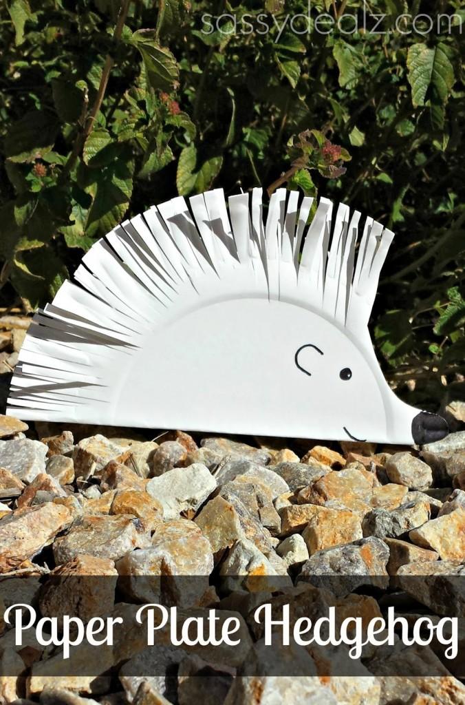 hedgehog-paper-plate-kids-crafts