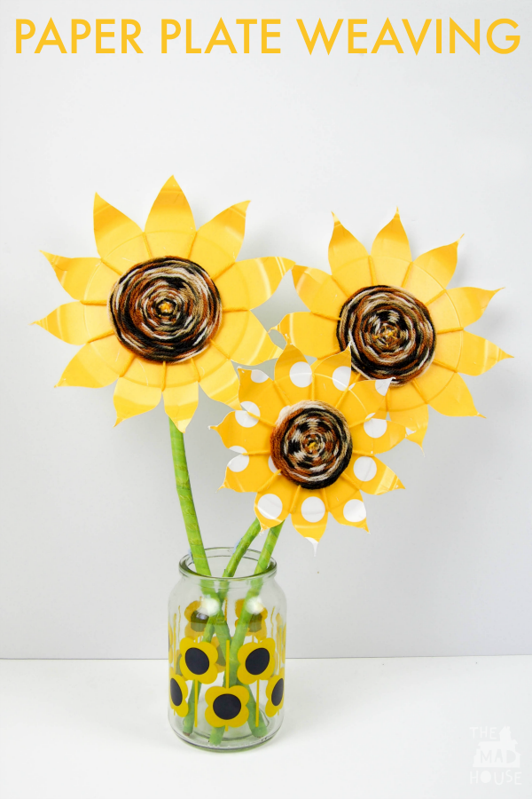 paper-plate-sunflowers