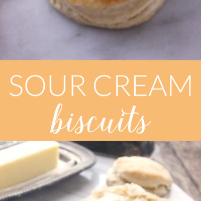 Learn how to make Sour Cream Biscuits from scratch with this simple step-by-step tutorial!