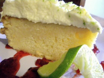 Lime white chocolate tres leches cake from restless chipotle