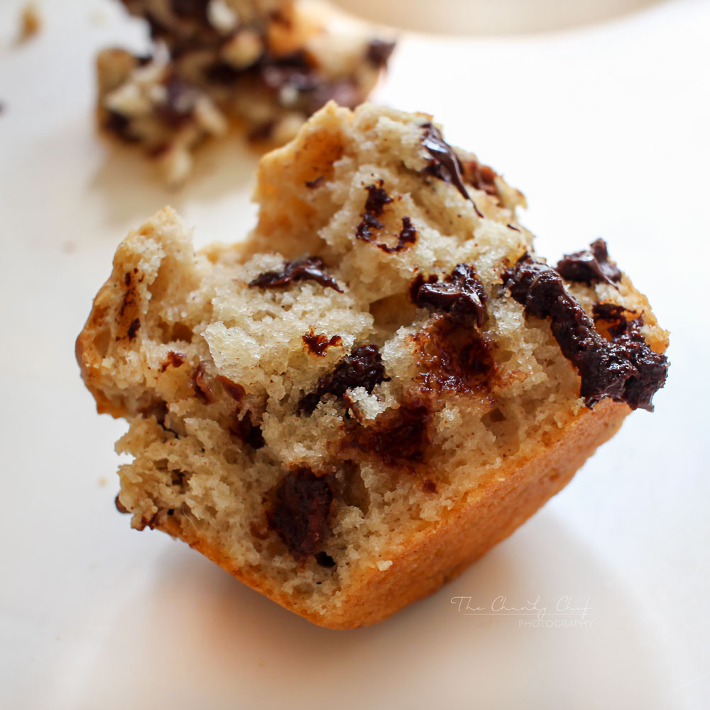 Chocolate Chip Muffins - TGIF - This Grandma is Fun