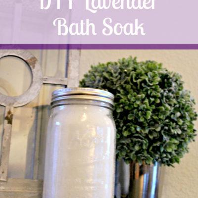 DIY Lavender Bath Soak