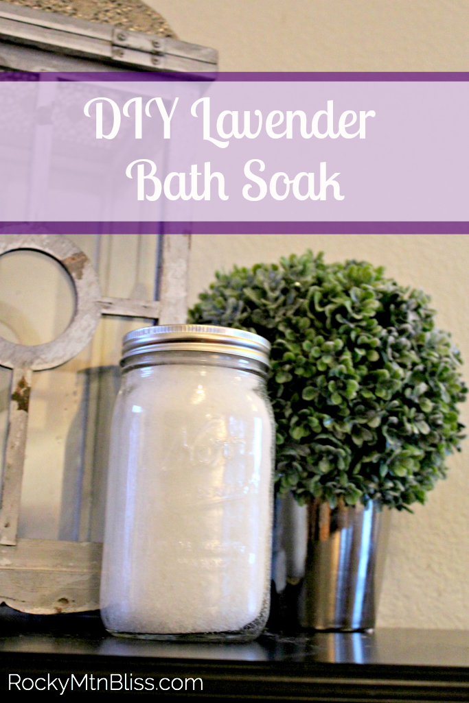 DIY Lavender Bath Soak - TGIF - This