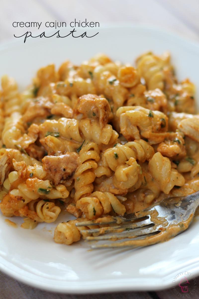 Easy Cajun Chicken Pasta Dinner Recipe