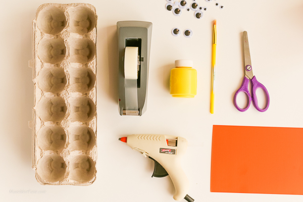 Egg Carton Craft Funny Monsters Made From Pinterest