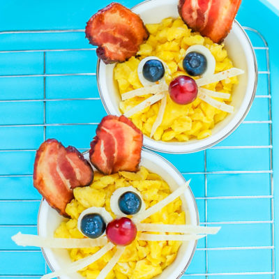Easter Bunnies Breakfast Idea for Kids