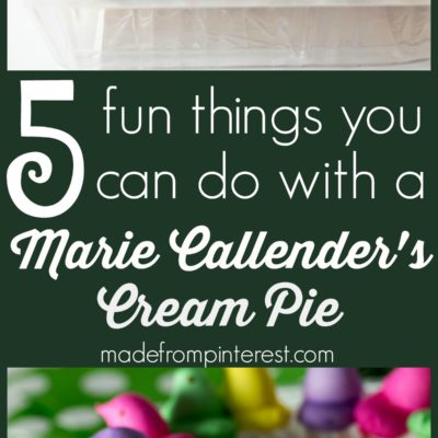 5 Fun Things to do with a Cream Pie