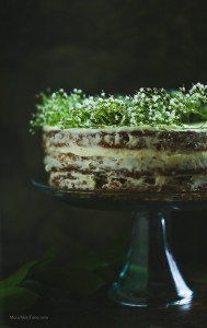 Naked Carrot CAke by Love Keil -- www.munchkintime.com #carrotcake