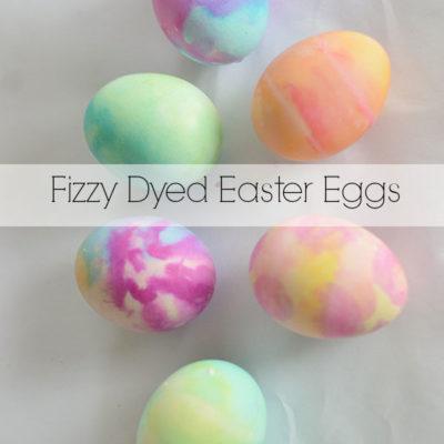 Fizzy Easter Egg Dye