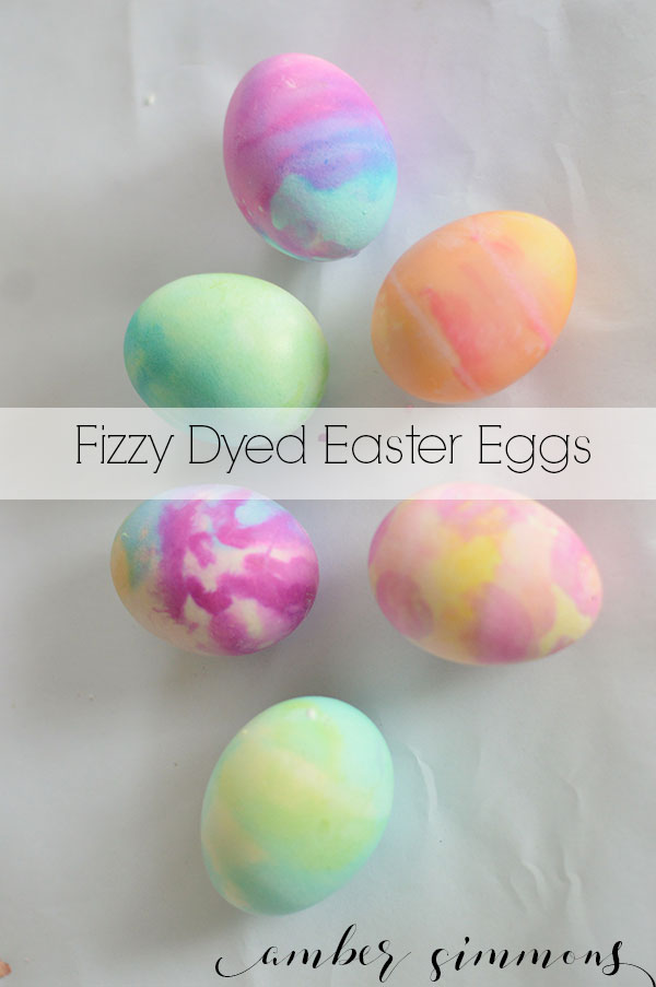 This fizzy Easter egg dye is a hit with children and adults alike.