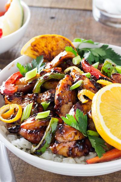 Cajun-Honey Glazed Chicken Bowls
