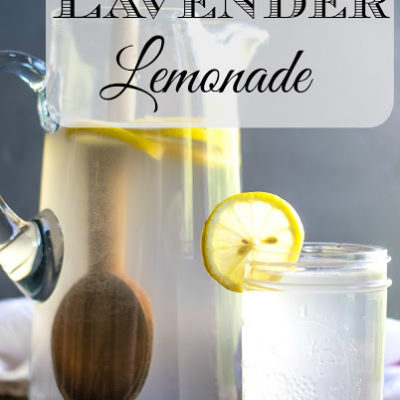 Summertime Coconut Lavender Lemonade