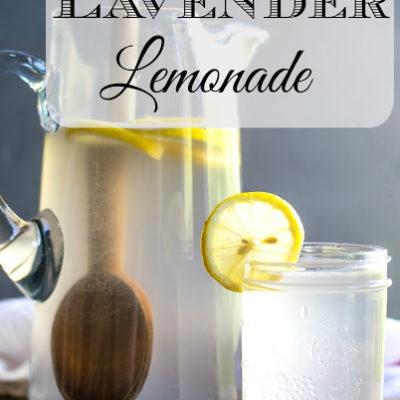 Summertime Coconut Lavender Lemonade