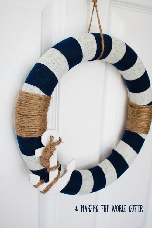 Diy Wreath Nautical Decor