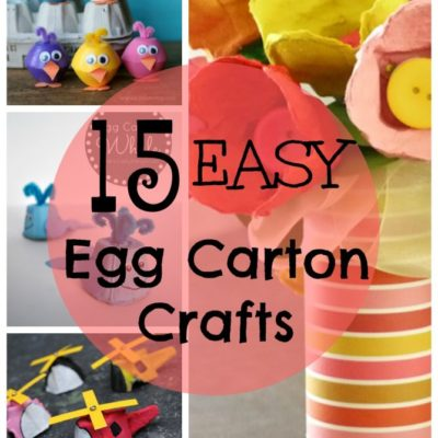 15 Egg Carton Crafts