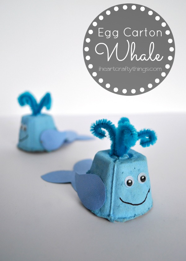 Egg-Carton-Whale-Kids-Craft