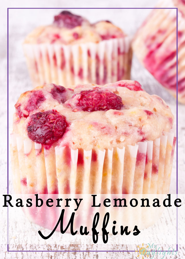 Moist and with great bursts of raspberry flavor, these muffins are a super breakfast food. You can also easily freeze them for later!