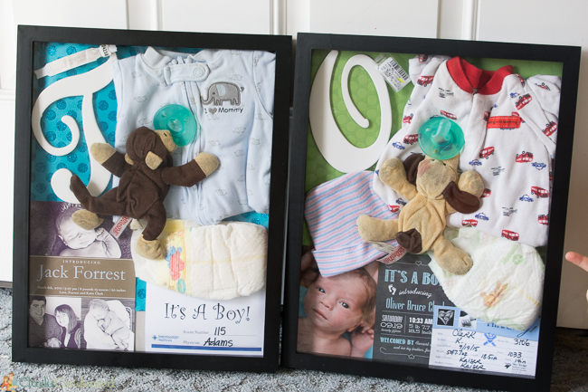 Diy Baby Shadow Box Tgif This Grandma Is Fun