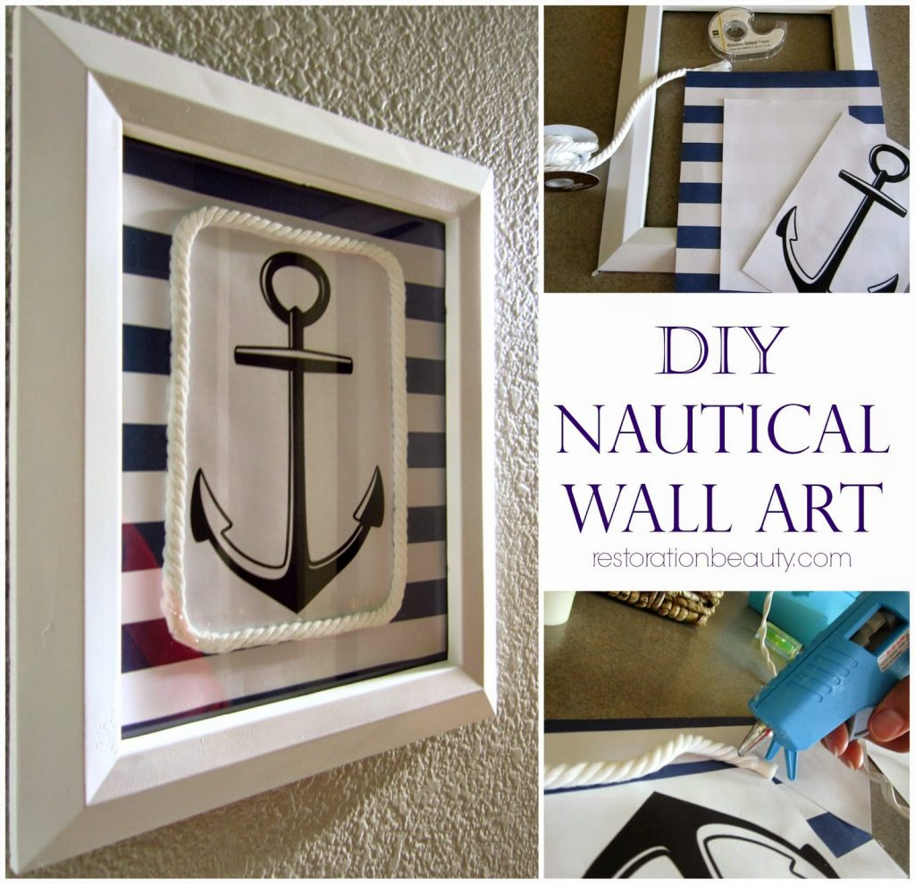 Diy Nautical Wall Art