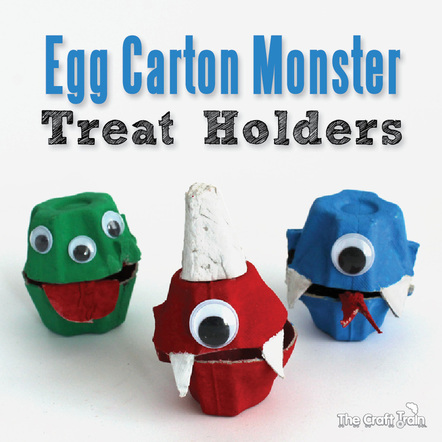 egg carton monster