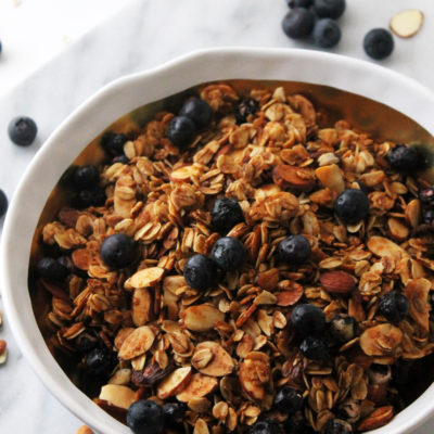 Cinnamon Blueberry Almond Granola Cereal