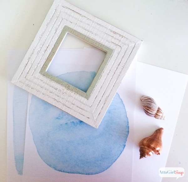 DIY Seashell Artwork