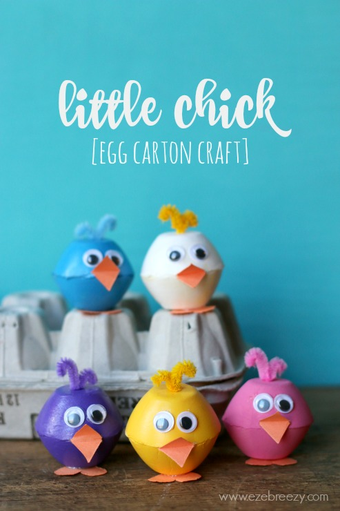 little-chick-egg-carton-craft
