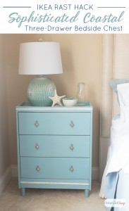 Ikea Rast Nightstand Hack from AttaGirlSays.com