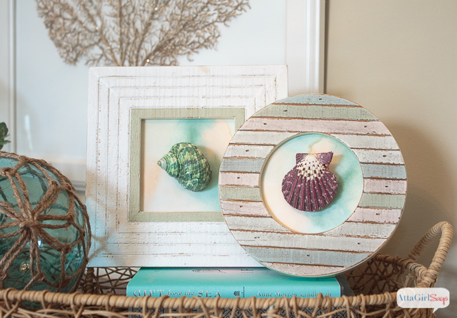 DIY Seashell Artwork