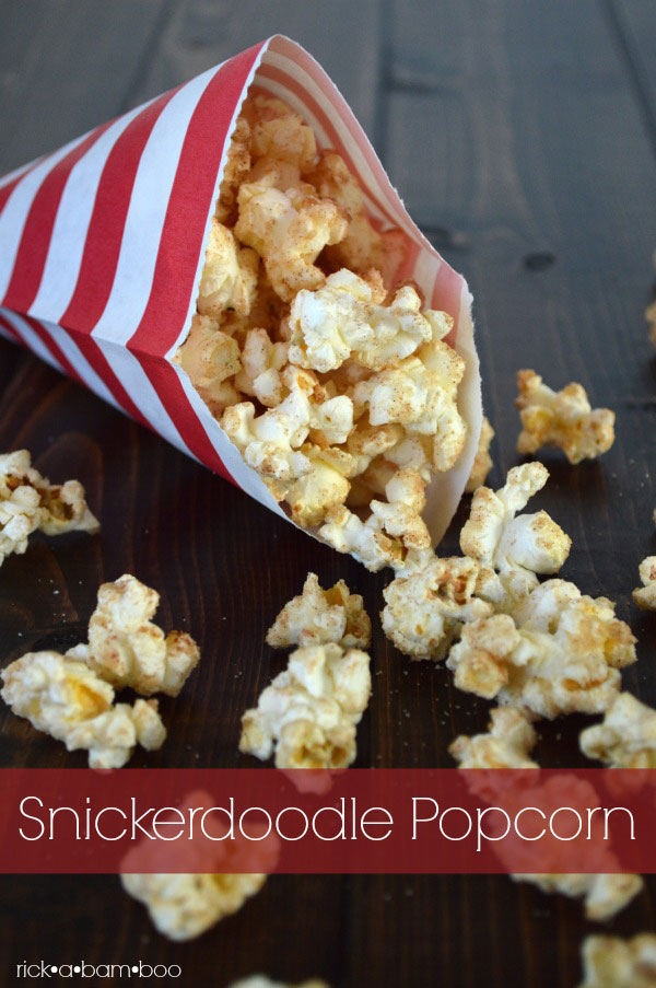 Snickerdoodle Popcorn | Amber Simmons