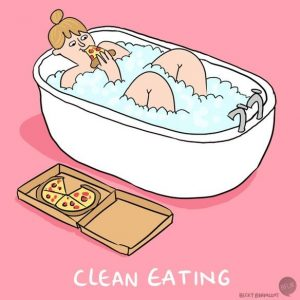 Is this your version of clean eating?