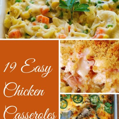 Easy Chicken Casseroles