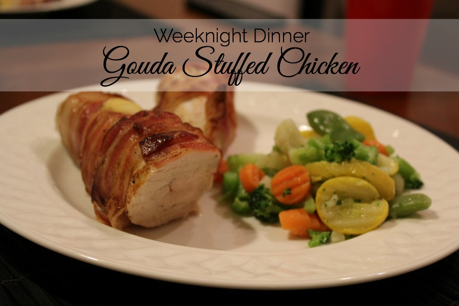 Gouda Stuffed Chicken Recipe