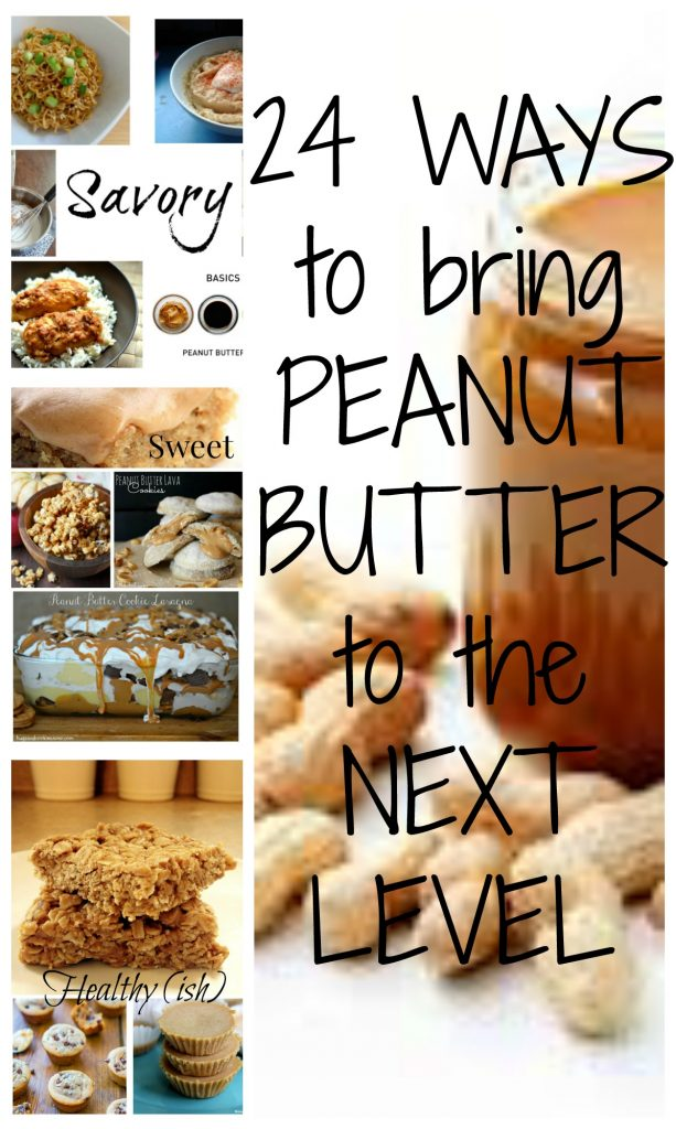 24 fun ways to use peanut butter that you've probably never thought of!