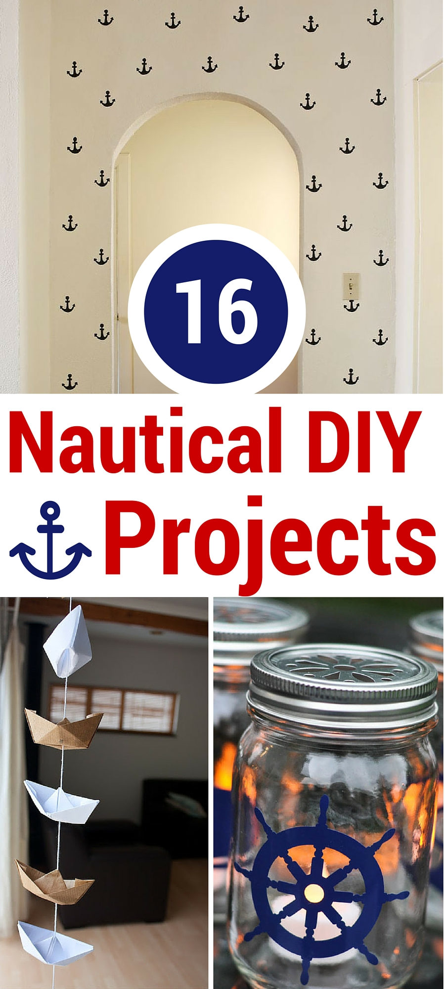 16 nautical diy projects tgif this grandma is fun for Nautical projects