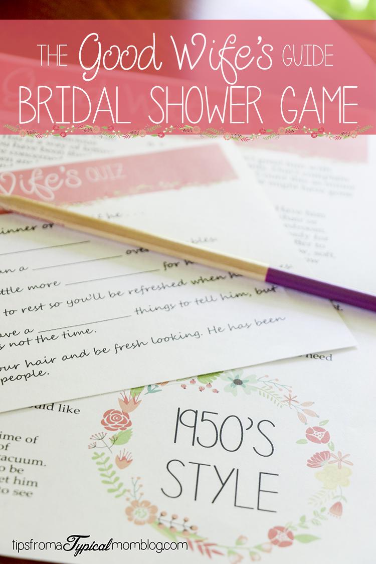 Bridal-Shower-Games.com - 1950's