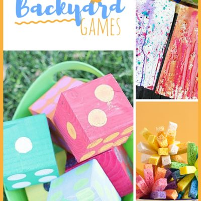 20 DIY Backyard Games