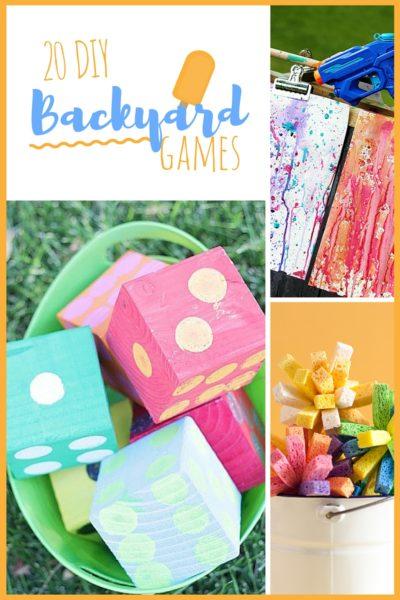 20 DIY Backyard Games