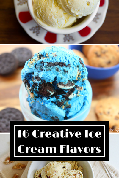 16 Creative Ice Cream Flavors To Try Right Now