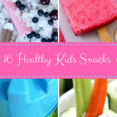 16 Healthy Kids Snacks