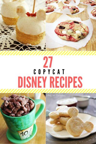 27 Copycat Disney Recipes