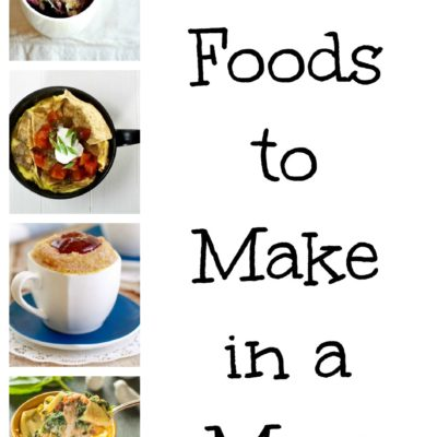 19 Foods To Make In A Mug!