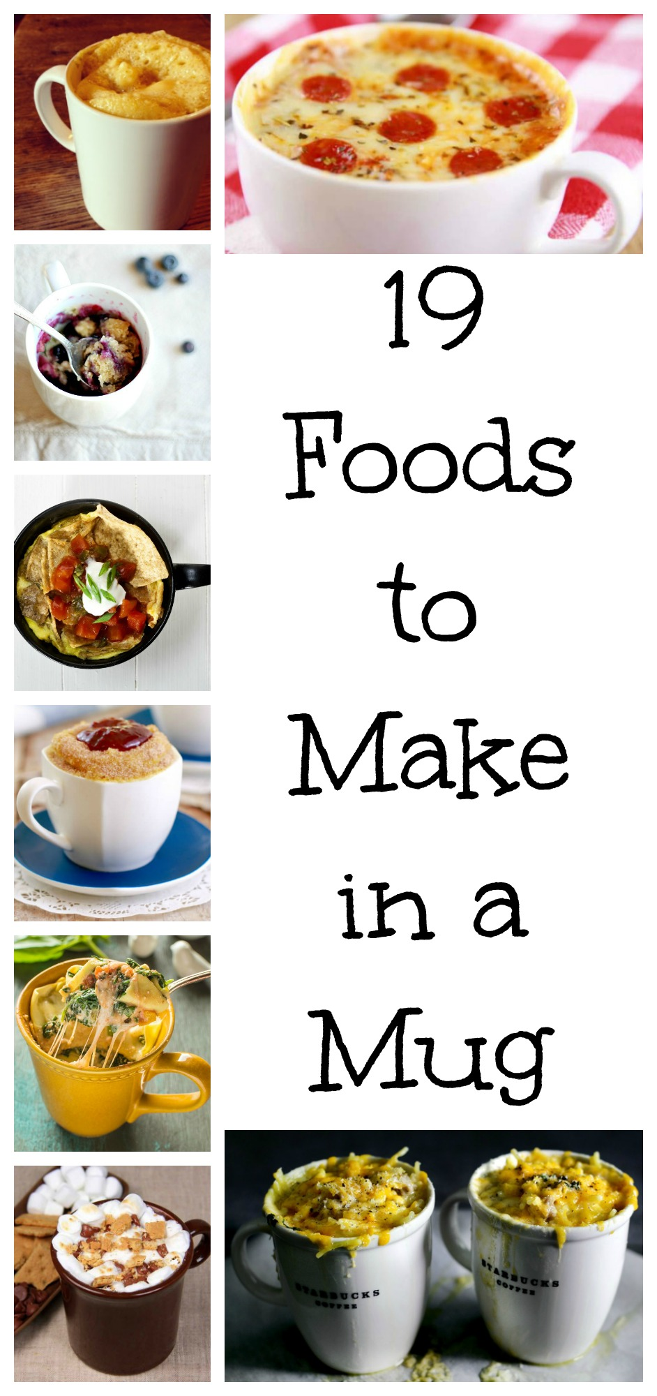 19 foods to make in a mug tgif this grandma is fun make a meal in a mug in the microwave any time of day with one of forumfinder Choice Image