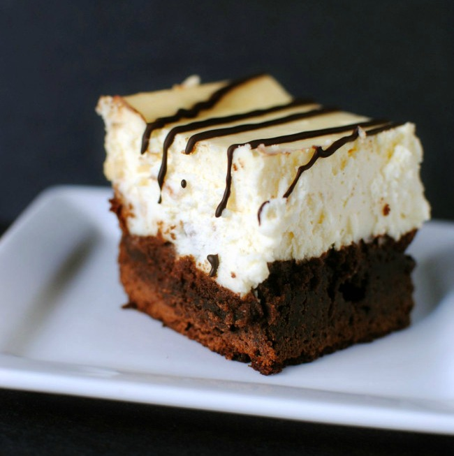 copycat disney brownie cheesecake