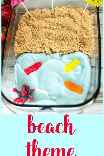 Beach Theme Fruit Dip
