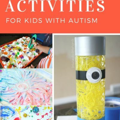 21 Sensory Activities For Kids With Autism
