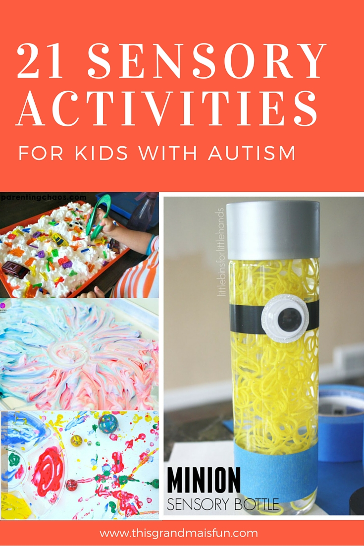 21 Sensory Activities For Kids With Autism - TGIF - This Grandma ...