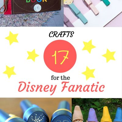 17 Crafts For The Disney Fanatic!
